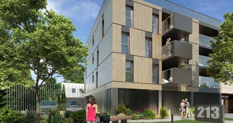 Achat / Vente programme immobilier neuf Bordeaux au centre de Caudéran (33000) - Réf. 2204