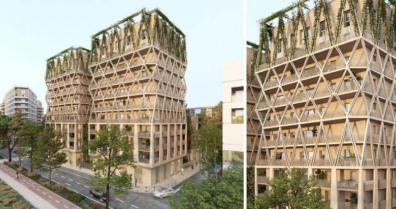 Achat / Vente programme immobilier neuf Bordeaux au cœur du Quartier Armagnac (33000) - Réf. 6053