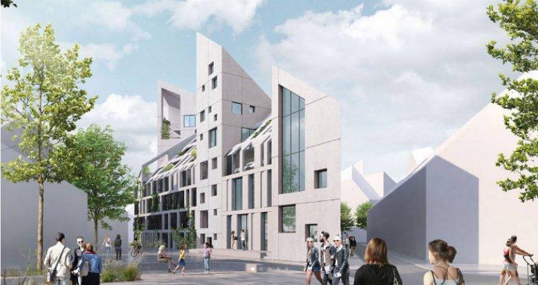 Achat / Vente programme immobilier neuf Bordeaux au cœur du quartier Bastide Niel (33000) - Réf. 4563