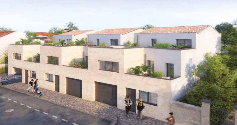 Achat / Vente programme immobilier neuf Bordeaux  au cœur quartier Croix Blanche (33000) - Réf. 4549