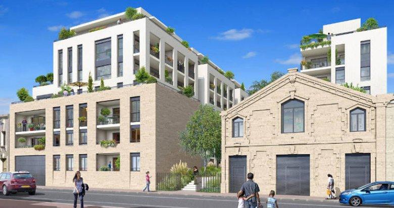 Achat / Vente programme immobilier neuf Bordeaux au pied de la Gare Saint Jean (33000) - Réf. 5152