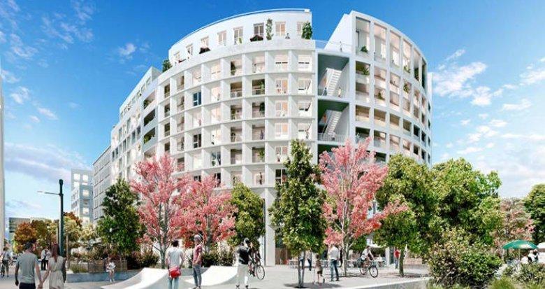 Achat / Vente programme immobilier neuf Bordeaux au pied du pont Simone Veil (33000) - Réf. 6096