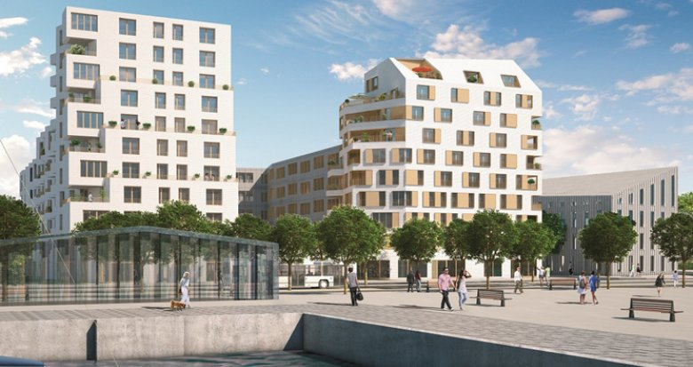 Achat / Vente programme immobilier neuf Bordeaux Bassins à Flot (33000) - Réf. 527