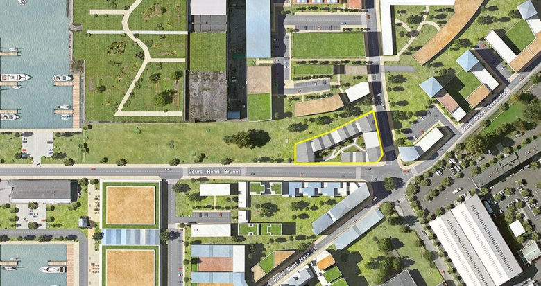 Achat / Vente programme immobilier neuf Bordeaux Bassins à flot proche tramway (33000) - Réf. 1876