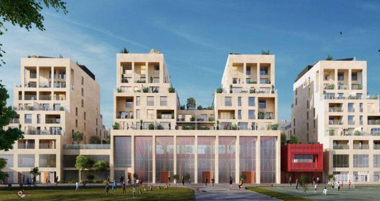 Achat / Vente programme immobilier neuf Bordeaux Bastide, face à la future plaine des Sports (33000) - Réf. 5200