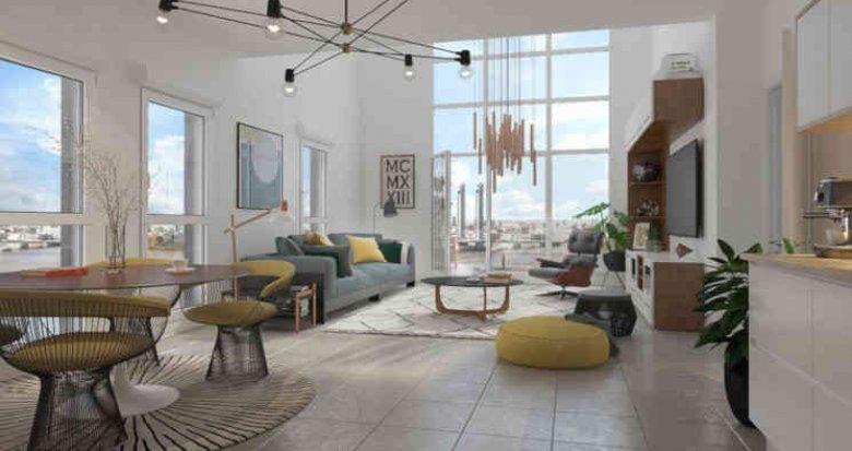 Achat / Vente programme immobilier neuf Bordeaux Brazza (33000) - Réf. 4321