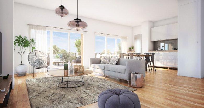 Achat / Vente programme immobilier neuf Bordeaux Brazza au pied de la future Brazzaligne (33000) - Réf. 5055