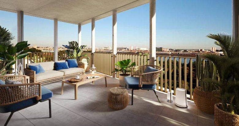 Achat / Vente programme immobilier neuf Bordeaux Brazza au pied du pont Chaban Delmas (33000) - Réf. 4948