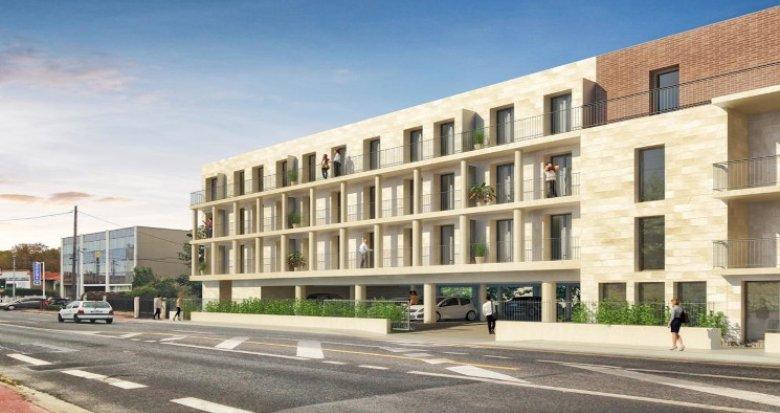 Achat / Vente programme immobilier neuf Bordeaux Caudéran proche école des Pins Francs (33000) - Réf. 5212