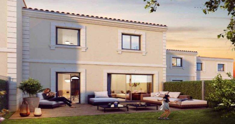 Achat / Vente programme immobilier neuf Bordeaux Caudéran proche piscine Stéhélin (33000) - Réf. 3845