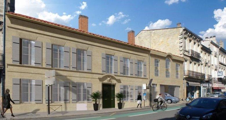 Achat / Vente programme immobilier neuf Bordeaux centre (33000) - Réf. 933