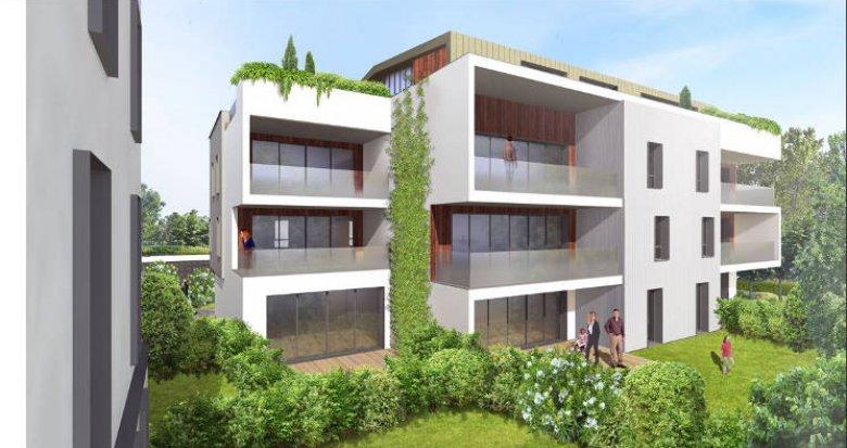 Achat / Vente programme immobilier neuf Bordeaux centre quartier Caudéran (33000) - Réf. 4558