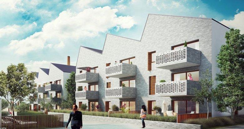 Achat / Vente programme immobilier neuf Bordeaux centre quartier Nansouty (33000) - Réf. 579