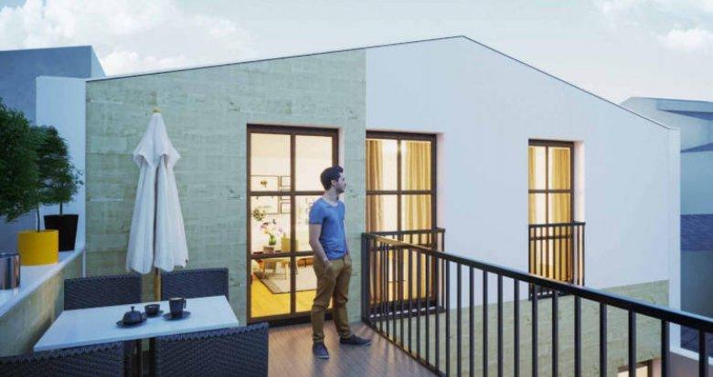 Achat / Vente programme immobilier neuf Bordeaux Chartrons - Proche place Doumer (33000) - Réf. 3834