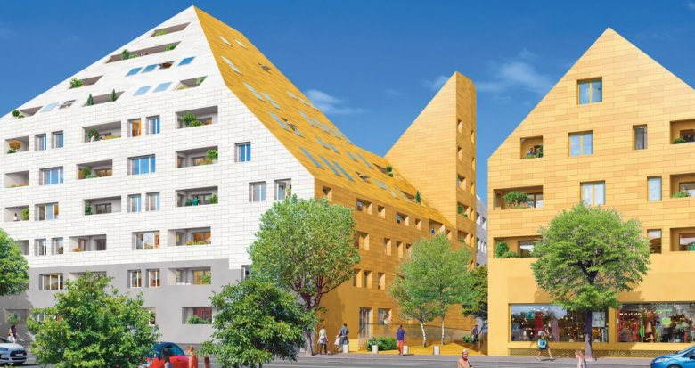 Achat / Vente programme immobilier neuf Bordeaux cœur de l'ancien quartier industriel (33000) - Réf. 1267