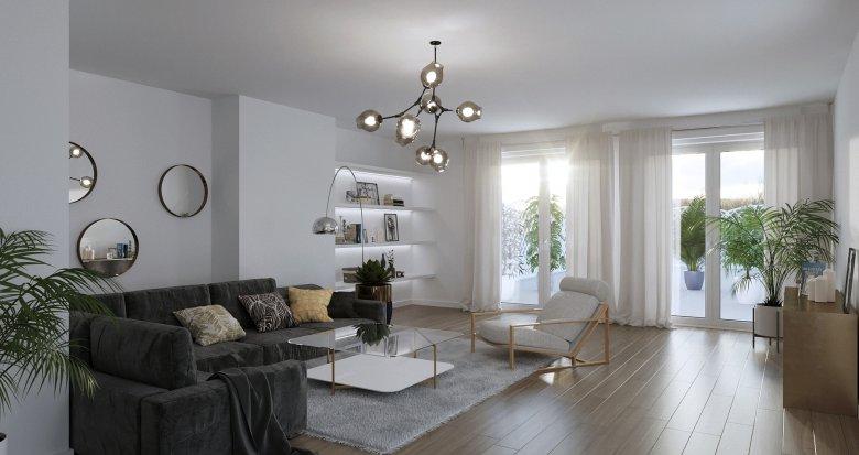 Achat / Vente programme immobilier neuf Bordeaux, entre Caudéran et Saint Augustin, appartement avec terrasse sur les toits (33000) - Réf. 1210