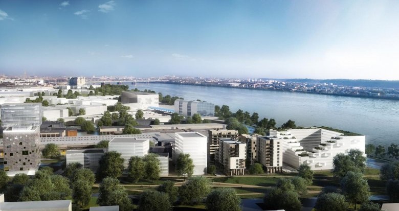 Achat / Vente programme immobilier neuf Bordeaux Euratlantique : au coeurs des Jardins de l'Ars (33000) - Réf. 1202