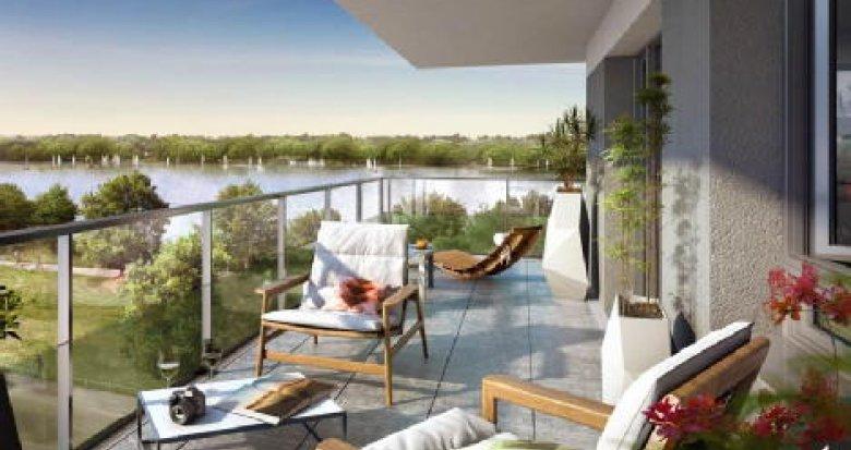 Achat / Vente programme immobilier neuf Bordeaux face au Lac (33000) - Réf. 533