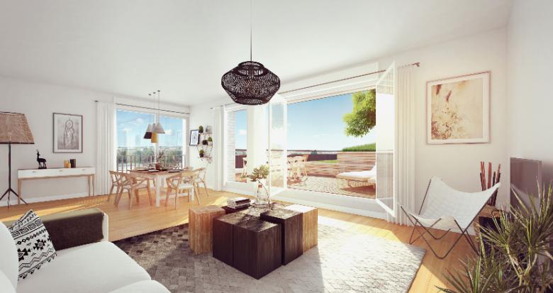Achat / Vente programme immobilier neuf Bordeaux Place Belvédère (33000) - Réf. 2560