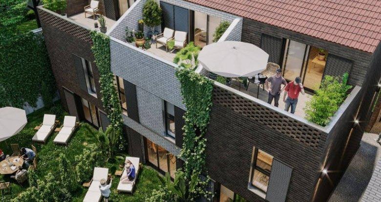 Achat / Vente programme immobilier neuf Bordeaux proche barrière d'Arès (33000) - Réf. 3759