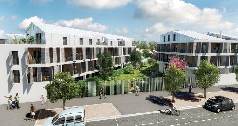 Achat / Vente programme immobilier neuf Bordeaux proche Bassins à Flot, services et transports (33000) - Réf. 1346