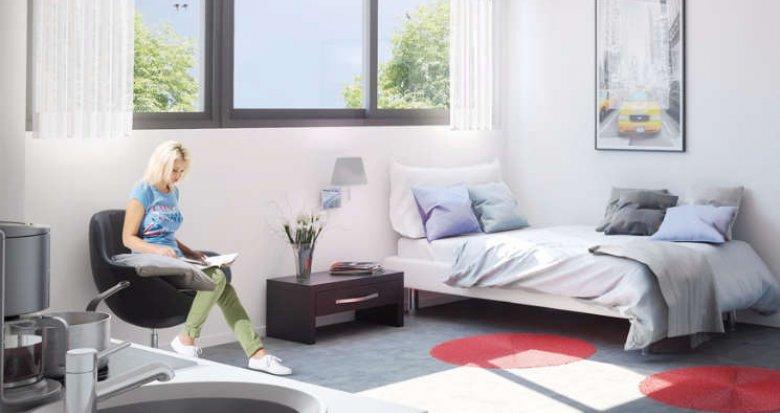 Achat / Vente programme immobilier neuf Bordeaux proche des campus universitaires (33000) - Réf. 973