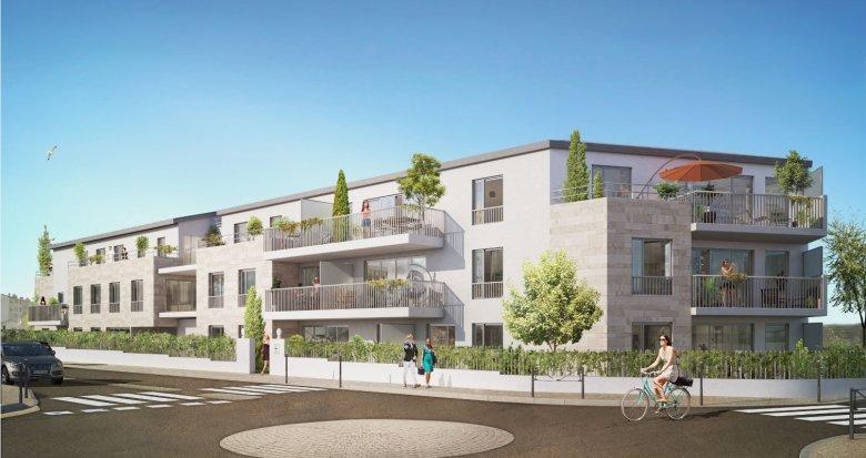 Achat / Vente programme immobilier neuf Bordeaux proche du cœur de Caudéran (33000) - Réf. 2295