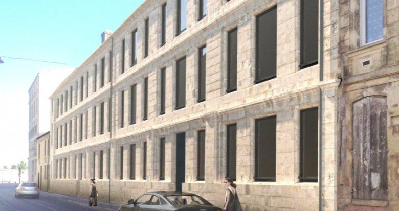 Achat / Vente programme immobilier neuf Bordeaux proche du Quai des Chartrons (33000) - Réf. 308