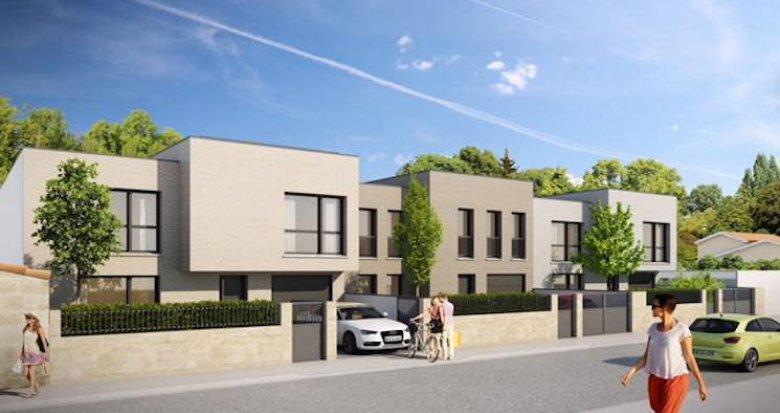 Achat / Vente programme immobilier neuf Bordeaux, proche Gare de Caudéran (33000) - Réf. 5207