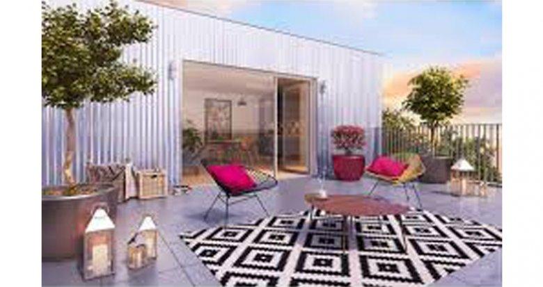 Achat / Vente programme immobilier neuf Bordeaux proche Gare de Caudéran (33000) - Réf. 2682
