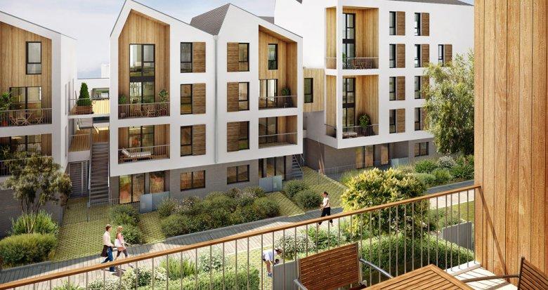 Achat / Vente programme immobilier neuf Bordeaux quartier Bassins à Flot (33000) - Réf. 1604