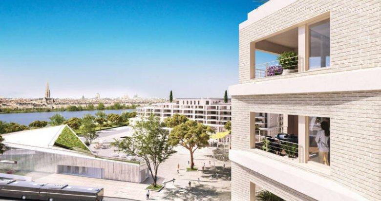 Achat / Vente programme immobilier neuf Bordeaux quartier Belvédère (33000) - Réf. 4827