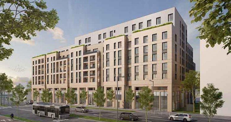 Achat / Vente programme immobilier neuf Bordeaux quartier Belvédère (33000) - Réf. 2516