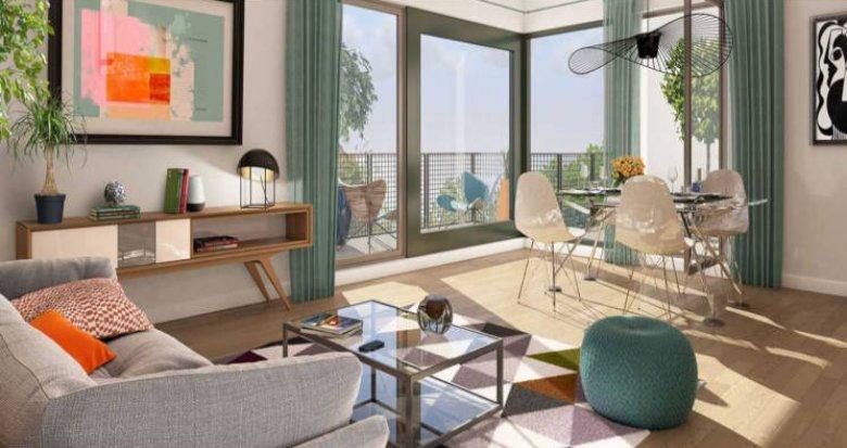 Achat / Vente programme immobilier neuf Bordeaux  quartier Brazza (33000) - Réf. 2675