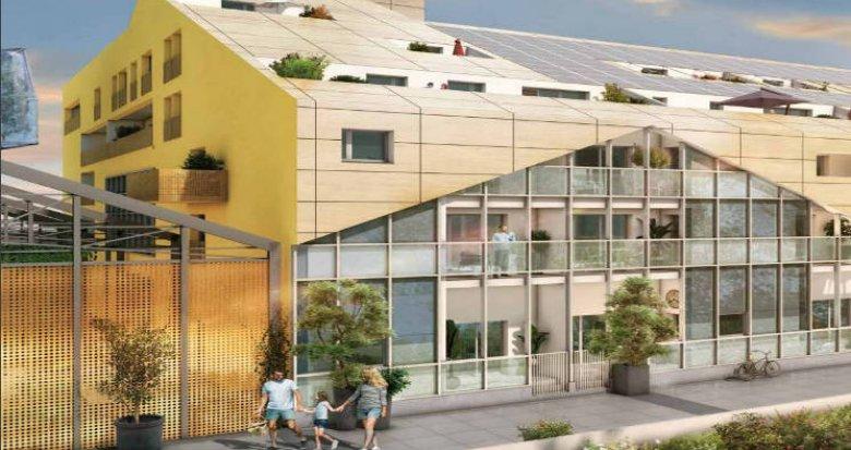Achat / Vente programme immobilier neuf Bordeaux quartier Caserne Niel (33000) - Réf. 3338