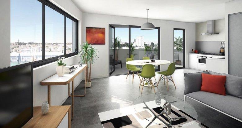 Achat / Vente programme immobilier neuf Bordeaux quartier des Bassins (33000) - Réf. 1496
