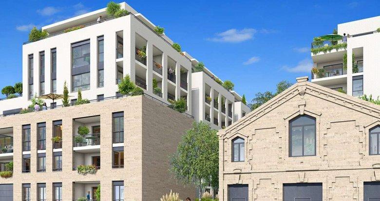 Achat / Vente programme immobilier neuf Bordeaux quartier Euratlantique (33000) - Réf. 1344