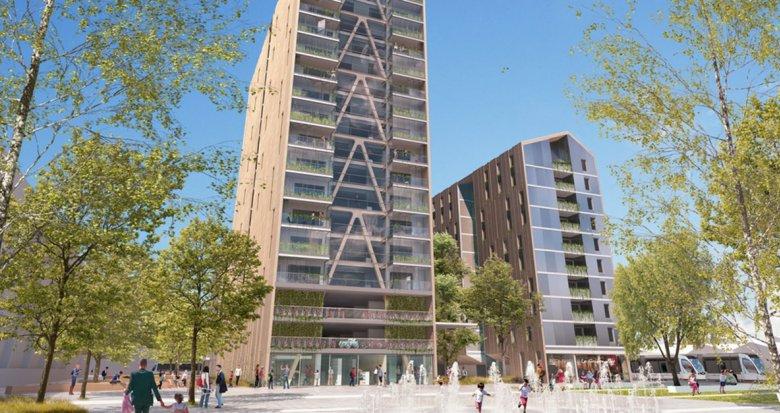 Achat / Vente programme immobilier neuf Bordeaux quartier Euratlantique centre (33000) - Réf. 3436