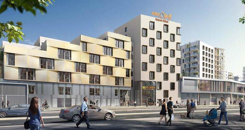 Achat / Vente programme immobilier neuf Bordeaux quartier Ginko (33000) - Réf. 1858