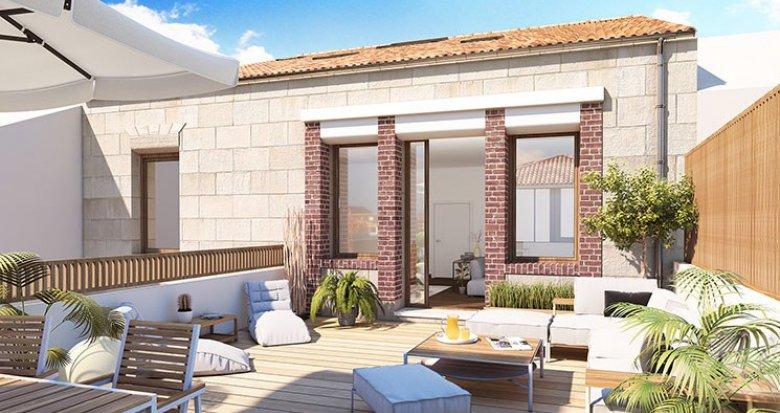 Achat / Vente programme immobilier neuf Bordeaux quartier Saint Bruno (33000) - Réf. 2227
