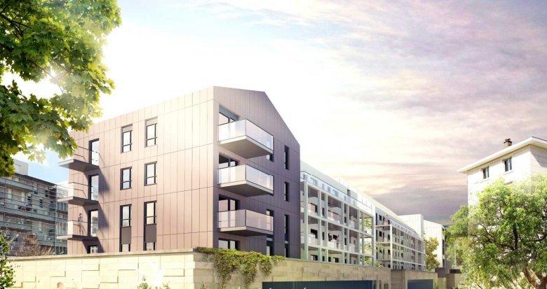 Achat / Vente programme immobilier neuf Bordeaux ZAC Saint-Jean Belcier (33000) - Réf. 714