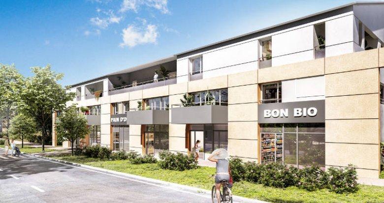 Achat / Vente programme immobilier neuf Carbon Blanc à 500m du centre ville (33560) - Réf. 5577