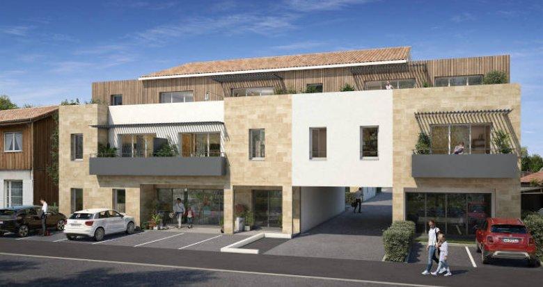 Achat / Vente programme immobilier neuf Carignan-de-Bordeaux entre ville et campagne (33360) - Réf. 4874