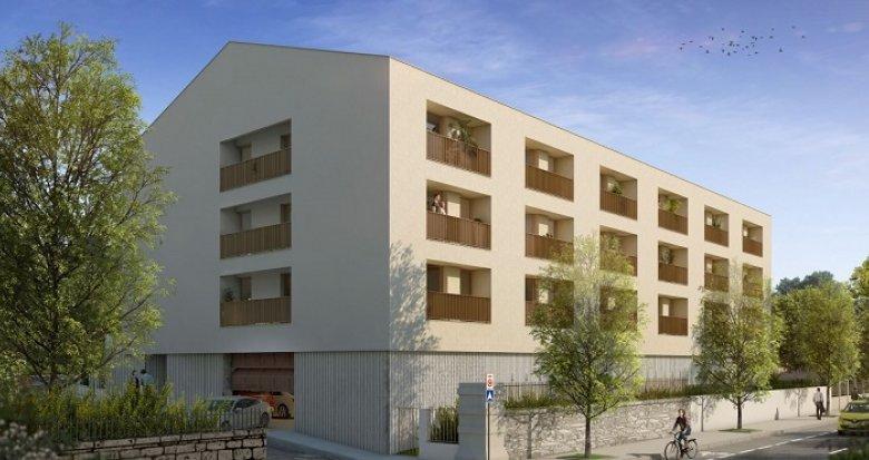 Achat / Vente programme immobilier neuf Cenon proche parc Frédéric Mistral (33150) - Réf. 2436