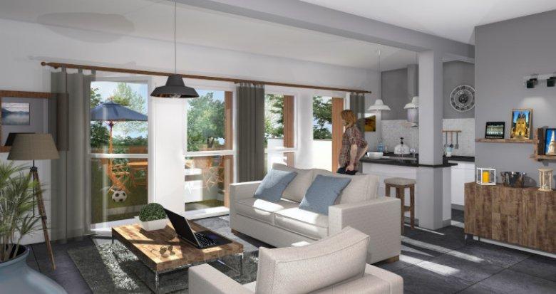 Achat / Vente programme immobilier neuf Gradignan proche du Bois de Cotor (33170) - Réf. 5564
