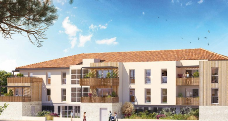 Achat / Vente programme immobilier neuf GRAND ANGLE (33470) - Réf. 2293