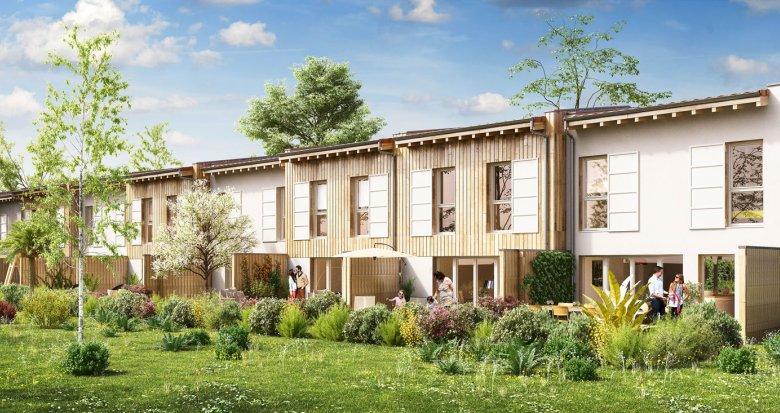 Achat / Vente programme immobilier neuf Gujan-Mestras quartier de la Perrine (33470) - Réf. 1576