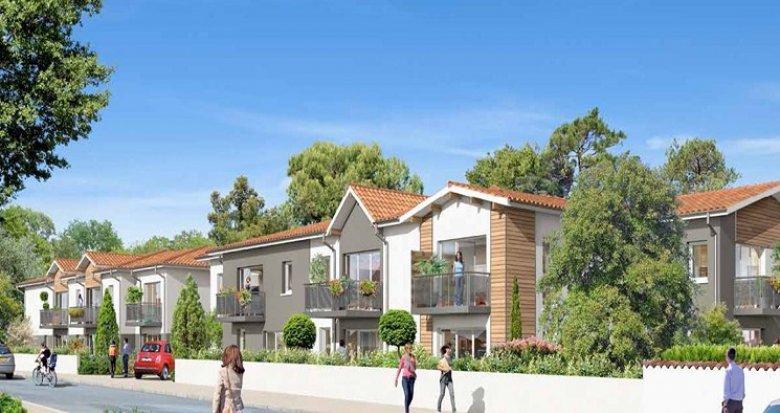 Achat / Vente programme immobilier neuf La Teste-de-Buch à 10 minutes des plages (33260) - Réf. 947