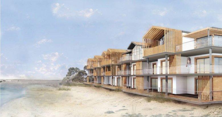 Achat / Vente programme immobilier neuf La Teste-de-Buch à 100m. de la plage (33260) - Réf. 648