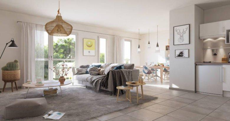 Achat / Vente programme immobilier neuf La Teste de Buch, à 15 min à pied du centre ville (33260) - Réf. 5810